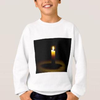 Kerze, Flamme Sweatshirt