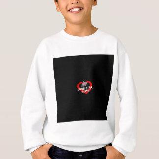 Kerzen-Herz-Entwurf für den Staat von Texas Sweatshirt