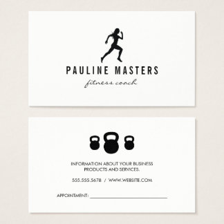 Kessel-Bellsprinter-Fitness-Trainer-Verabredung Visitenkarte