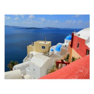 Kessel, Oia, Santorini, Griechenland Postkarte