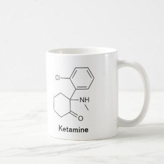 Ketamine und Morphium Kaffeetasse