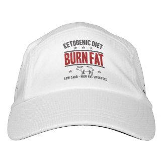 KETOGENIC DIÄT: Brand-Fett - niedriges Headsweats Kappe