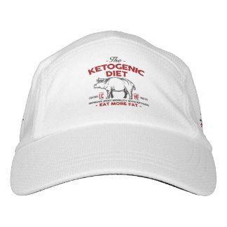 KETOGENIC DIÄT: Essen Sie Keton - Verbinden Sie Headsweats Kappe