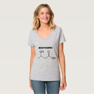 #Ketogenic mit Keton-Molekül T-Shirt