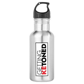 Ketoned 18-Unze-Stahlflasche (Keton-Diät) erhalten Edelstahlflasche