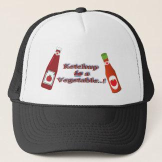 Ketschup-Ketschup-Gemüseflaschen-Witz Truckerkappe