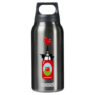 Ketschup-Ölplattform Isolierte Flasche