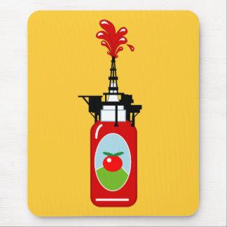 Ketschup-Ölplattform Mousepad