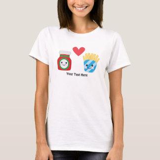 Ketschup u. Fischrogen (kundengerecht) T-Shirt