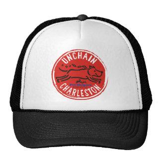 Ketten Sie Charleston-Fernlastfahrer-Hut los Retrokultkappen