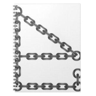 Kettenbrief Spiral Notizblock
