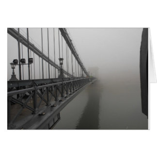 Kettenbrücke, Budapest Ungarn 2010 Karte