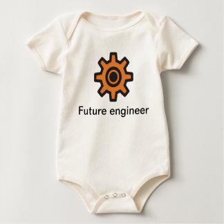 Kettenrad - zukünftiger Ingenieur nach innen Baby Strampler