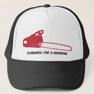 Kettensäge, Kettensäge für Hummer Truckerkappe