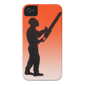 Kettensägen-Baum-Chirurg iPhone 4 Hülle