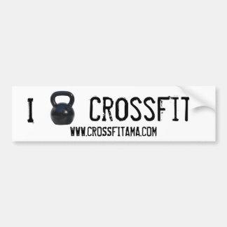 Kettlebell I CrossFit Stoßdämpfer Autoaufkleber