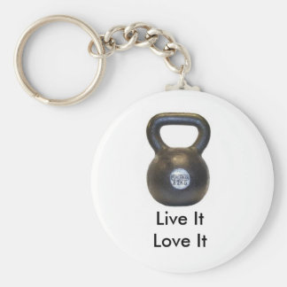 kettlebell, LiveItLove es Schlüsselanhänger