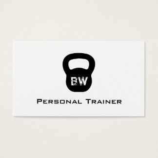 Kettlebell persönliche Trainer-Visitenkarte Visitenkarten
