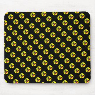 Kettlebell smiley-Mausunterlage Mousepad