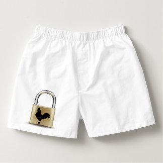 Keuschheits-Verschluss-Boxer Herren-Boxershorts