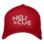 Kev Cue Red Cap Bestickte Mützen