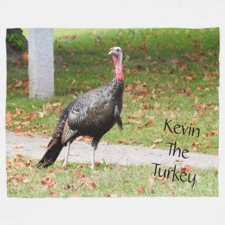 Kevin die Türkei - altes Wethersfield, CT Fleecedecke