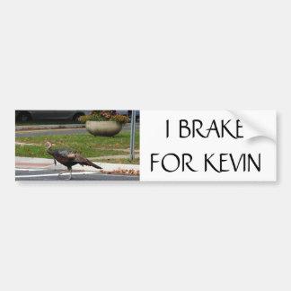 Kevin die Türkei - i-BREMSE FÜR KEVIN Autoaufkleber