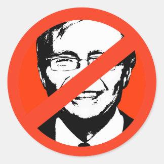 Kevin Rudd Runder Sticker