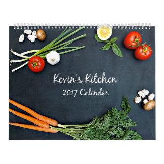 Kevins Wandkalender Küchen-2017