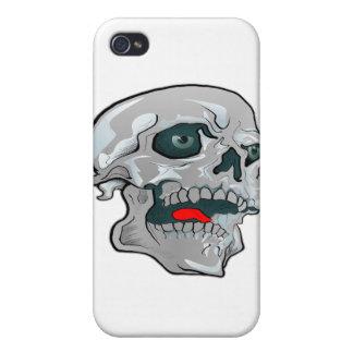 Kewl Schädel-Tätowierung iPhone 4 Etui