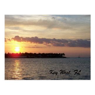 Key West, FL Postkarte