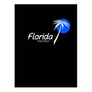 Key West-Insel Straßen von Florida Postkarte