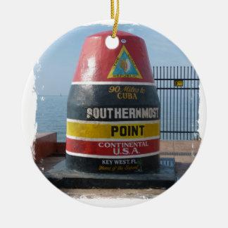 Key West Keramik Ornament