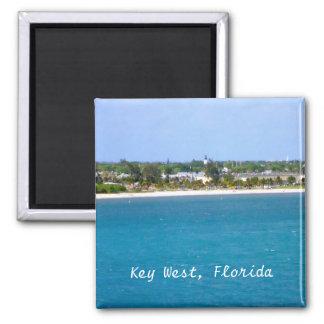 Key West-Küstenlinie Quadratischer Magnet