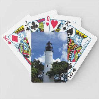 Key West-Leuchtturm Bicycle Spielkarten