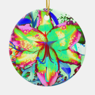 Key West-Lilie Keramik Ornament