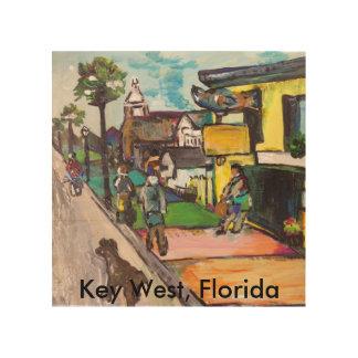 Key West-Malen Holzleinwand