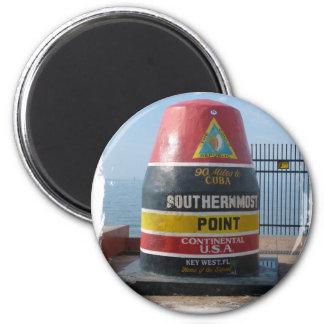 Key West Runder Magnet 5,1 Cm