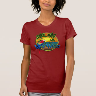 Key West-Sonnenuntergang Hemden