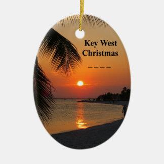 Key West-Sonnenuntergang Keramik Ornament