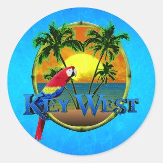 Key West-Sonnenuntergang Aufkleber
