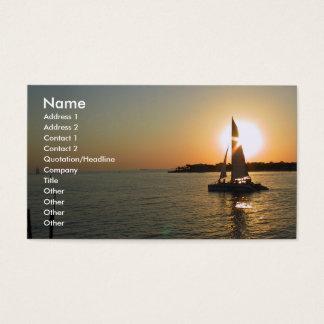Key West-Sonnenuntergang Visitenkarten