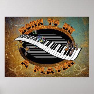 Keyboarder Poster