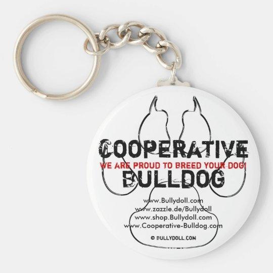 Keychain Cooperative Bulldog Schlüsselanhänger