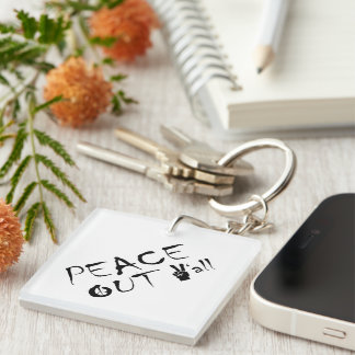 Keychain Frieden heraus Sie Schlüsselanhänger