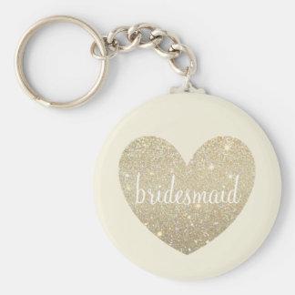 Keychain - Herz-tolle Brautjungfer Schlüsselanhänger