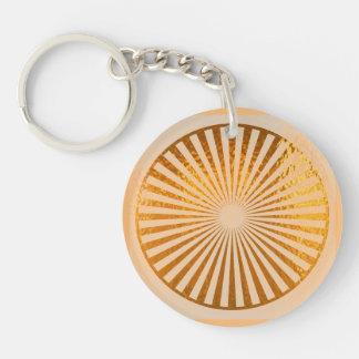 KEYCHAIN KEYCHAINS goldene reine Energie Chakra Schlüsselanhänger