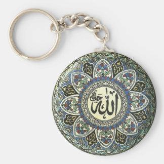 Keychain mit antikem Türkischeentwurf Standard Runder Schlüsselanhänger