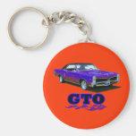 """Keychain mit Entwurf """"Pontiacs GTO"""" Schlüsselband"""