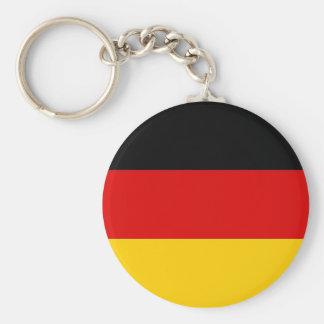 Keychain mit Flagge von Deutschland Schlüsselanhänger